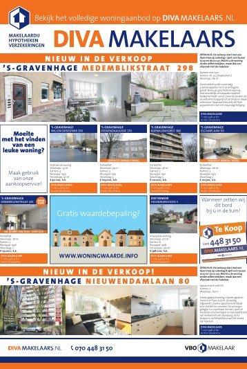 DIVA Makelaars, weekblad Zuidwesterkrant week 12