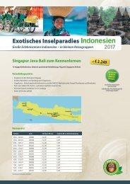Erlebe Indonesien in einer kleinen Reisegruppe