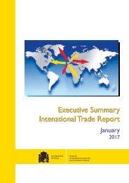 Executive Summary Intenational Trade Report