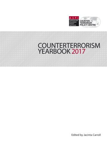 COUNTERTERRORISM YEARBOOK 2017
