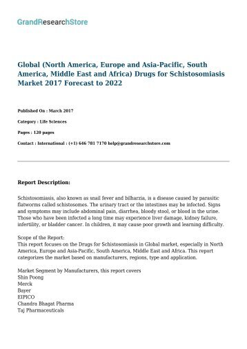 global-north-america-europe-and-asia-pacific-south-america-middle-east-and-africa-drugs-for-schistosomiasis--grandresearchstore
