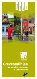 Veranstaltungskalender & Einkaufsführer Grevesmühlen