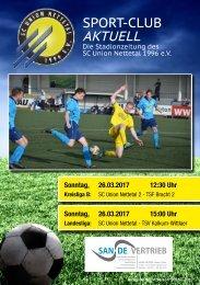 Sport Club Aktuell - Ausgabe 40 - 26.03.2017