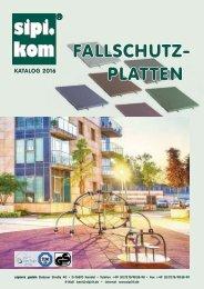 Fallschutzmatten Katalog | SIPIRIT GmbH Kommunalbedarf
