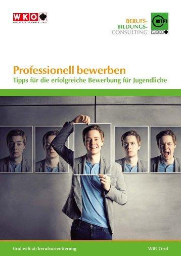 Professionell bewerben - Schüler/Jugendliche LG-Profil