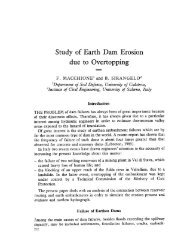 Study of Earth Dam Erosion due to Overtopping