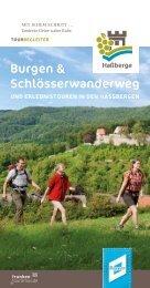 Burgen und Schlösserwanderweg - Haßberge Tourismus