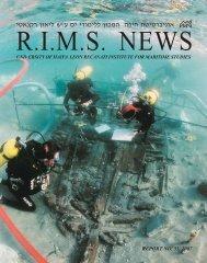 RIMS 33 color.indd - The Leon Recanati Institute for Maritime Studies