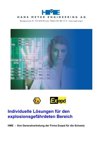 Individuelle Lösungen für den explosionsgefährdeten Bereich
