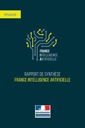 rapport de synthèse france intelligence artificielle
