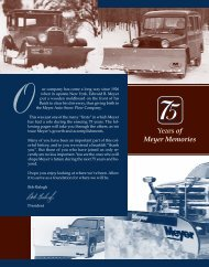 Meyer 75th Anniversary - Meyer Products