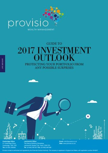 2017 INVESTMENT OUTLOOK