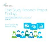 Case Study Research Project Findings