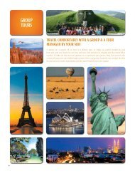 GRoUP ToURS - Thomas Cook India