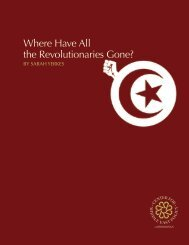 Where Have All the Revolutionaries Gone?