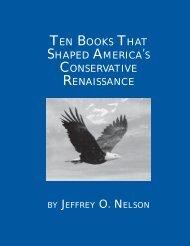 ten books that shaped america's conservative renaissance