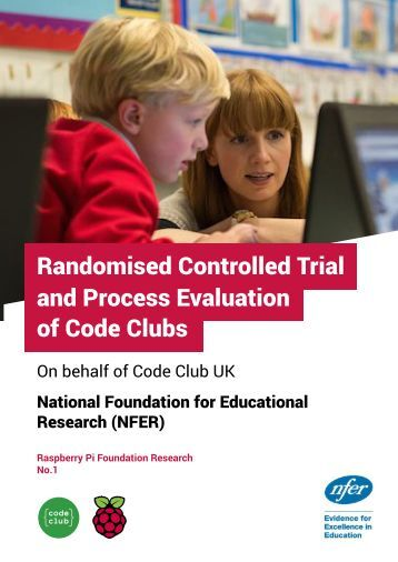 Randomised Controlled Trial and Process Evaluation of Code Clubs