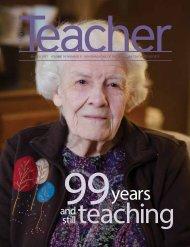 MARCH 2017 VOLUME 95 NUMBER 5 NEWSMAGAZINE OF THE MANITOBA TEACHERS' SOCIETY