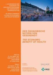 PROGRAMM / PROGRAMME - Merck Sharp & Dohme-Chibret AG