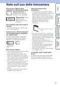 Sony DSC-W190 - DSC-W190 Consignes d'utilisation Italien - Page 3