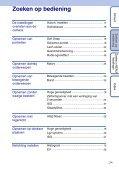 Sony DSC-W190 - DSC-W190 Consignes d'utilisation Néerlandais - Page 7