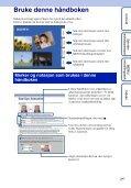 Sony DSC-W190 - DSC-W190 Consignes d'utilisation Norvégien - Page 2