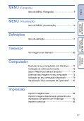 Sony DSC-W190 - DSC-W190 Consignes d'utilisation Portugais - Page 5