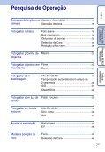 Sony DSC-W190 - DSC-W190 Consignes d'utilisation Portugais - Page 7