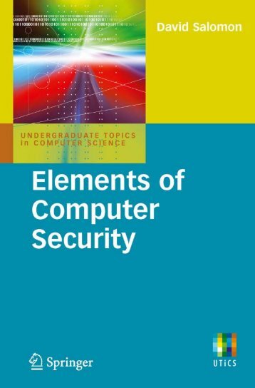Elements of Computer Security - Developers