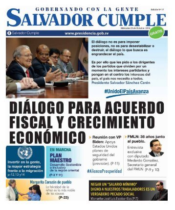 Periódico Salvador Cumple Nº17 05 de OCT 2016