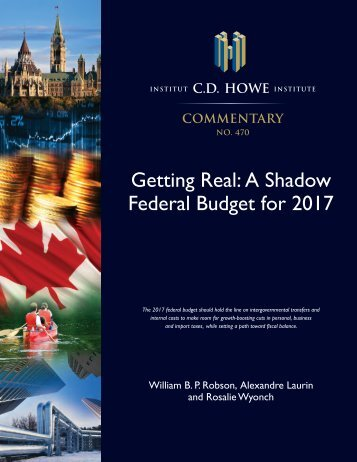 Getting Real A Shadow Federal Budget for 2017