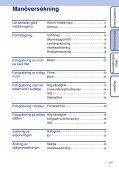 Sony DSC-W190 - DSC-W190 Consignes d'utilisation Suédois - Page 7