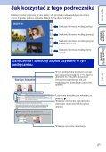 Sony DSC-W190 - DSC-W190 Consignes d'utilisation Polonais - Page 2