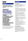 Sony DSC-W190 - DSC-W190 Consignes d'utilisation Hongrois - Page 2