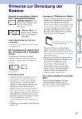 Sony DSC-W190 - DSC-W190 Consignes d'utilisation Allemand - Page 3