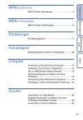 Sony DSC-W190 - DSC-W190 Consignes d'utilisation Allemand - Page 5