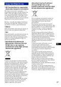 Sony DSC-W190 - DSC-W190 Consignes d'utilisation Grec - Page 3