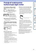 Sony DSC-W190 - DSC-W190 Consignes d'utilisation Turc - Page 3