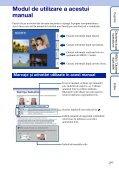 Sony DSC-W190 - DSC-W190 Consignes d'utilisation Roumain - Page 2