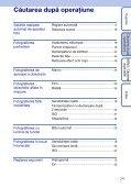 Sony DSC-W190 - DSC-W190 Consignes d'utilisation Roumain - Page 7