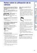 Sony DSC-W190 - DSC-W190 Consignes d'utilisation Espagnol - Page 3