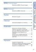 Sony DSC-W190 - DSC-W190 Consignes d'utilisation Espagnol - Page 5