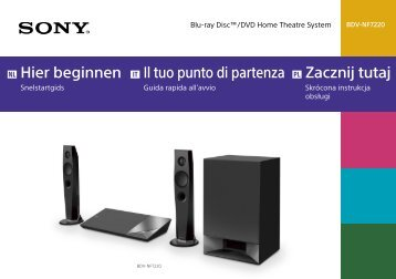 Sony BDV-NF7220 - BDV-NF7220 Guide de mise en route Néerlandais