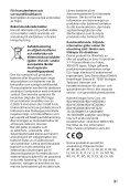 Sony BDV-NF7220 - BDV-NF7220 Guide de référence Suédois - Page 3
