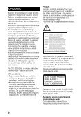 Sony BDV-NF7220 - BDV-NF7220 Guide de référence Slovénien - Page 2
