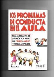 2. cap. 4 Los problemas de conducta en el aula