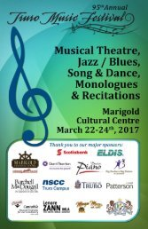 Recitations Jazz/Blues Musical Theatre Song & Dance