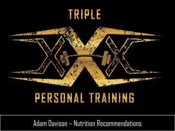 Adam Davison - Phase 4 Nutrition Recommendations (2)