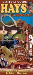 Visitors Guide - City of Hays, KS