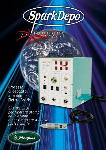 Processo di deposito a freddo Elettro-Spark SPARKDEPO per ...
